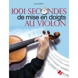 1001 secondes de mise en doigts au violon B. Garlej