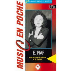 Music en poche Edith Piaf