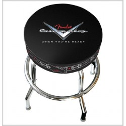 TABOURET DE BAR LOGO FENDER CHEVRON CUSTOM SHOP