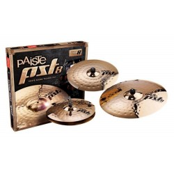 PAISTE PST 8 REFLECTOR ROCK SET AVEC CRASH 18 OFFERTE