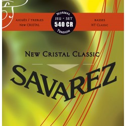 JEU SAVAREZ Cordes CRISTAL CLASSIC ROUGE TIRANT NORMAL