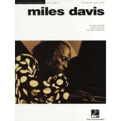 DAVIS JAZZ PIANO SOLO VOL. 1 MILES DAVIS