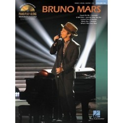 Bruno Mars Piano Play Along Volume 126
