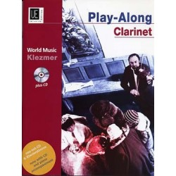 PLAY-ALONG KLEZMER CLARINETTE/PIANO + CD