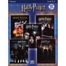 HARRY POTTER LES 5 FILMS + CD CLARINETTE