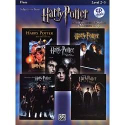 HARRY POTTER LES 5 FILMS + CD FLUTE