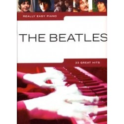 BEATLES REALLY EASY PIANO 23 GREAT HITS