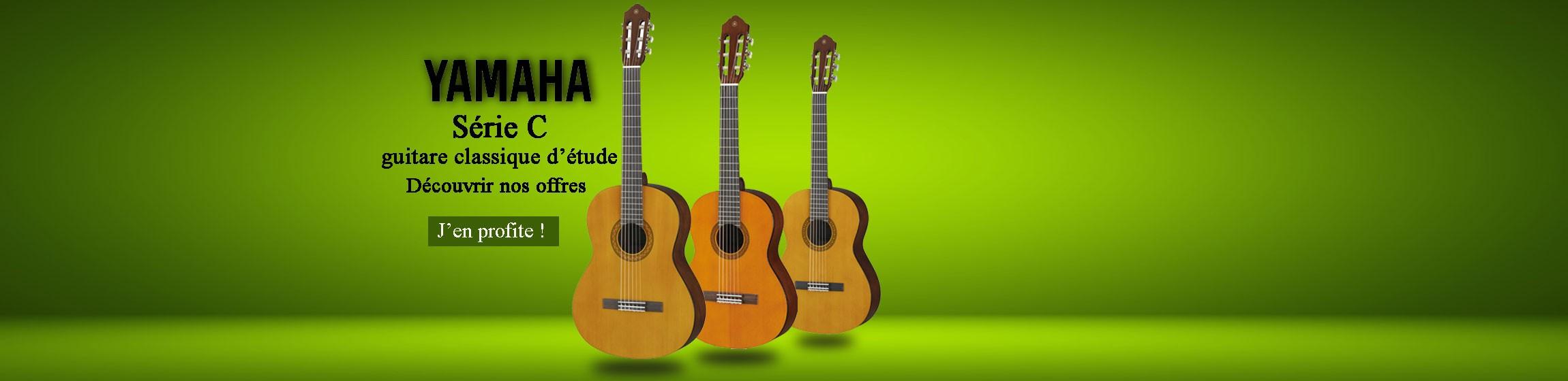 guitare classique yamaha série c