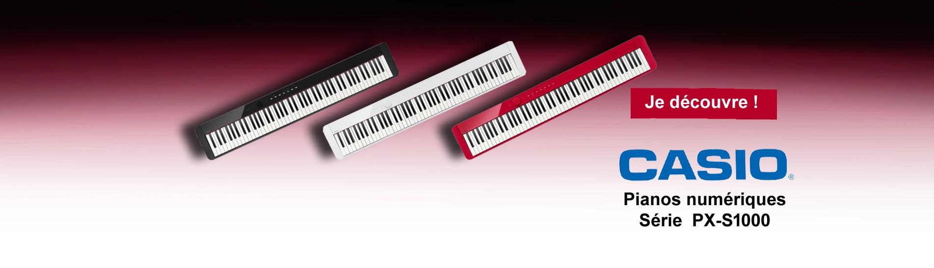 PIANO NUMERIQUE CASIO PX S1000