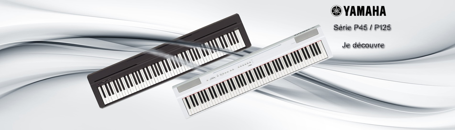 PIANO NUMERIQUE PORTABLE YAMAHA P125 / P45