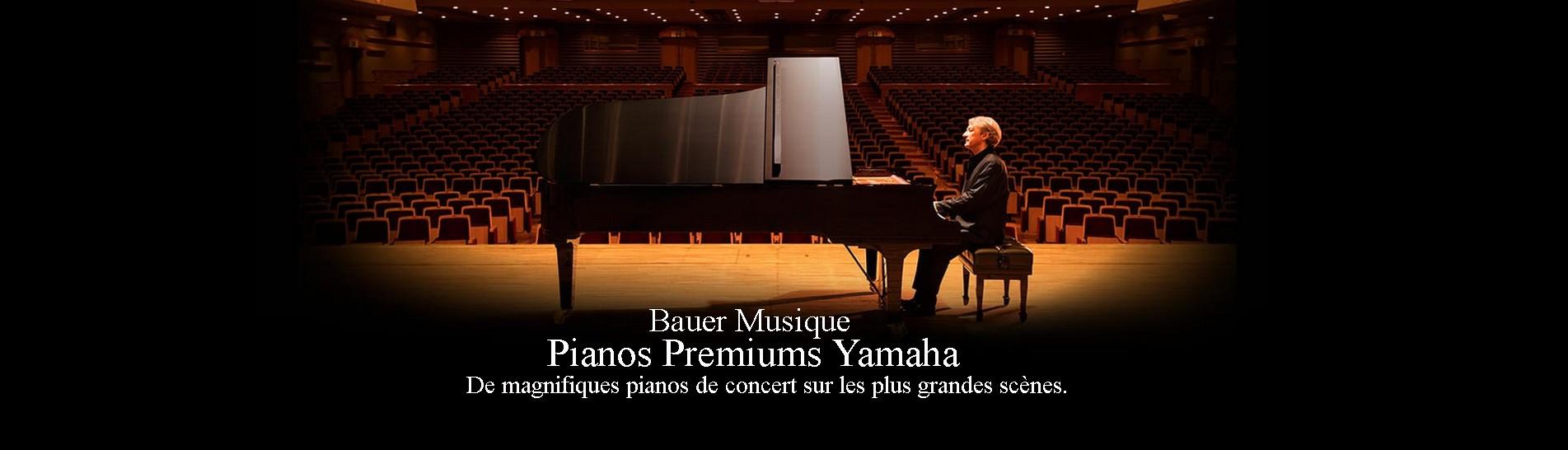 bauer musique magasin de musique premiums pianos Yamaha