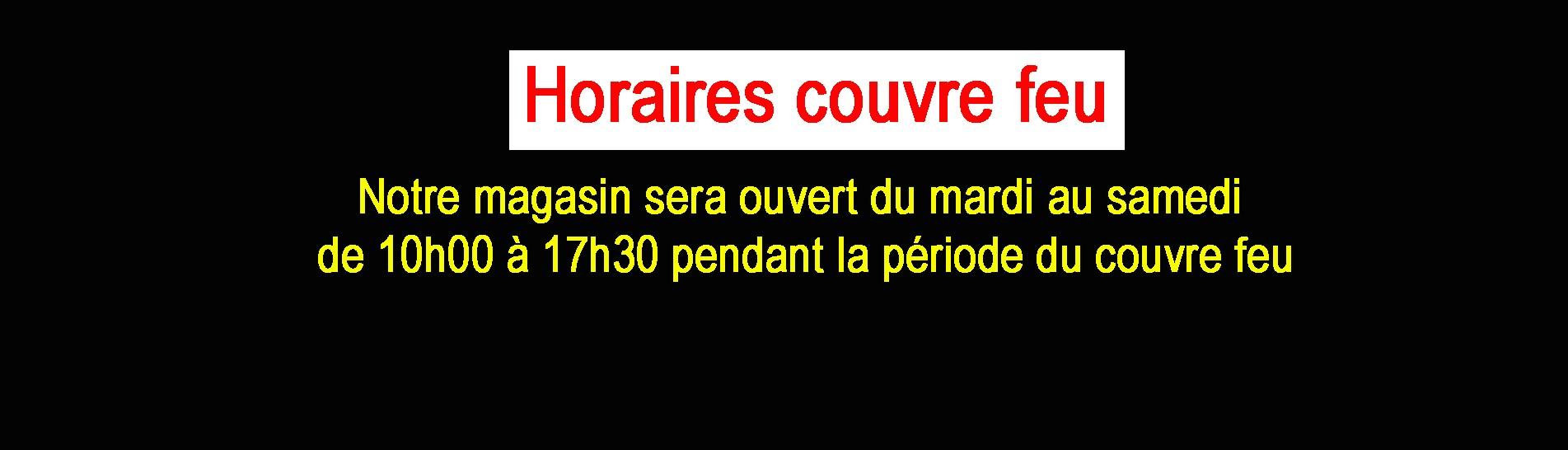 HORAIRES COUVRE FEU BAUER MUSIQUE
