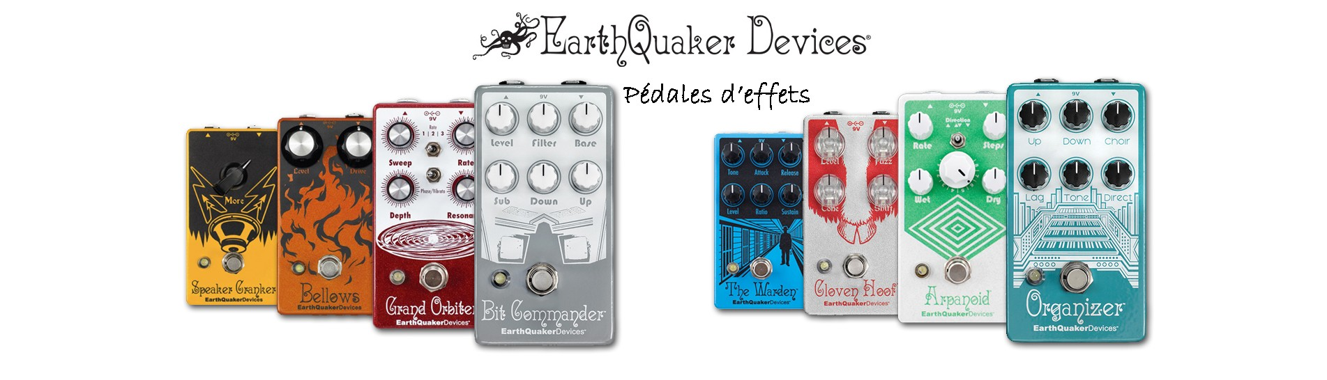 Pédales d'effets EARTHQUAKER DEVICES
