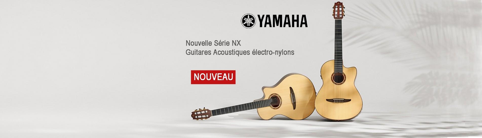 Guitares Acoustiques électro-nylons série NTX Yamaha